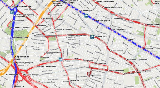Завршен увоз линија јавног превоза у Београду